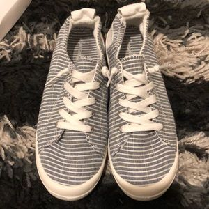 Stripped American Eagle Slip Ons